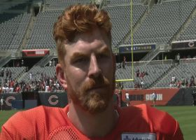 Andy Dalton weighs in on Bears QB position battle