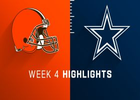 Browns vs. Cowboys highlights | Week 4