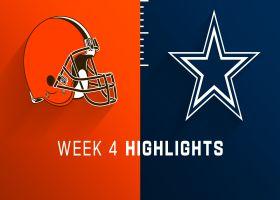 Browns vs. Cowboys highlights | Week 4