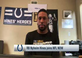 Nyheim Hines shares reaction to Carson Wentz trade, Philip Rivers retirement