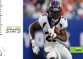Next Gen Stats: Top 5 plays through Sunday of Week 1