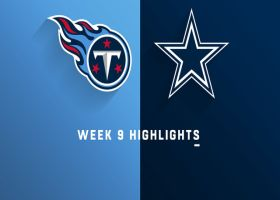 Titans vs. Cowboys highlights | Week 9