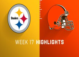 Steelers vs. Browns highlights | Week 17