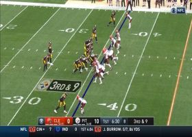 Redwine leads Browns' ambush on massive third-down sack