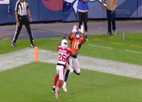 Fred Brown hauls TD in corner of end zone