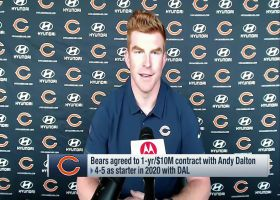 Andy Dalton shares what enticed him to sign with Bears