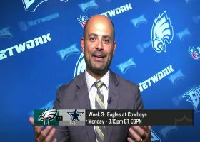 Baldinger: Goal-line offense will be an 'emphasis' for Eagles vs. Cowboys