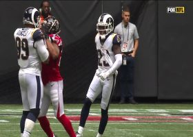 Cory Littleton shows cat-like reflexes on impressive tipped INT