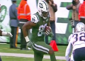 Chris Herndon rumbles for 21 yards on catch-and-run