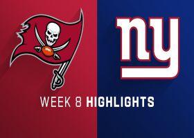 Buccaneers vs. Giants highlights | Week 8