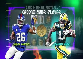 Barkley vs. Adams: Who is the better fantasy first-round pick?