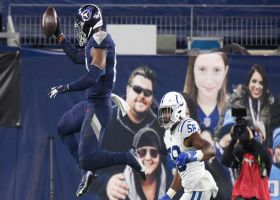 Jonnu Smith punctuates walk-in TD on jet sweep with aerial celebration