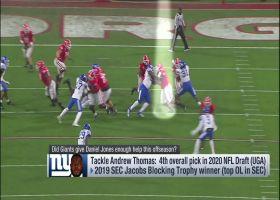 Did Giants do enough this offseason to protect Daniel Jones?
