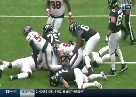 Spin cycle! Mercilus spins by Jags O-line for strip-sack