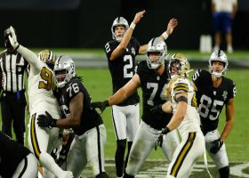 Daniel Carlson DRILLS 54-yard FG to give Raiders late two-score lead