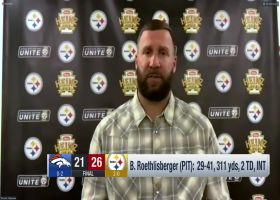 Ben Roethlisberger critiques his Week 2 outing, commends defense's performance