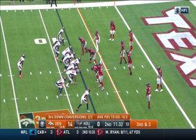 Carlos Hyde rumbles for a 13-yard pickup
