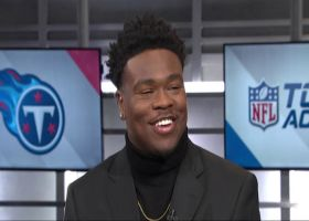 Tennessee Titans linebacker Jayon Brown breaks down how to beat New England Patriots quarterback Tom Brady, Indianapolis Colts q
