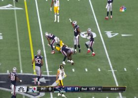 Patrick Chung breaks up Steelers' fourth-down attempt