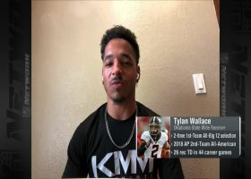 Tylan Wallace: One trait that separates me from other 2021 draft WRs