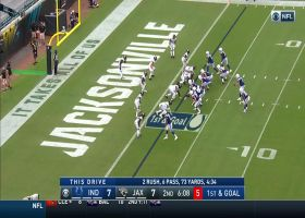 Nyheim Hines turns screen into Philip Rivers' first Colts TD