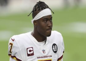 Warner: Haskins 'not ready' to be an NFL QB1 yet