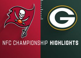 Buccaneers vs. Packers highlights | NFC Championship Game