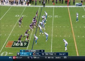 Mitchell Trubisky's third TD is impressive 24-yard toss to Taylor Gabriel