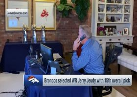 Elway calls Jeudy to tell him Broncos have drafted him