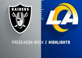 Raiders vs. Rams highlights | Preseason Week 2