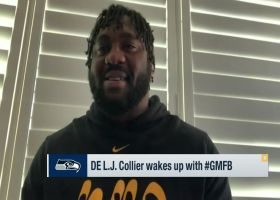 L.J. Collier's take on Russell Wilson: 'He's gonna be our QB for years to come'