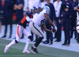 Darren Waller wows broadcasters with toe-tapping grab