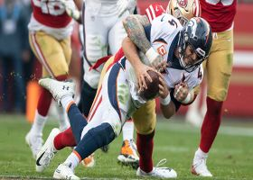 49ers' DL gets to Keenum for third-down sack