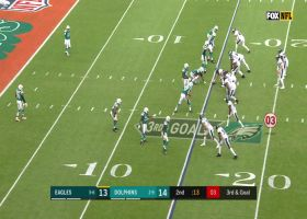 Wentz extends the play to hit J.J. Arcega-Whiteside for his first NFL TD