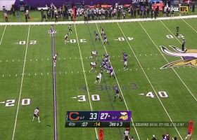 Bears pick off Kirk Cousins' Hail Mary in the end zone to ice win