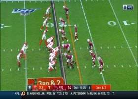 Landry's wild third-down throwback to Mayfield does not go as planned
