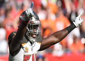Bucs D HYPED after big tackle by Lavonte David
