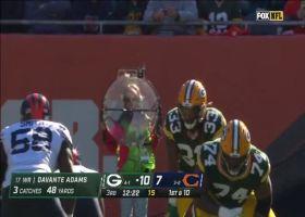 Packers' O-line paves way for Aaron Jones' 28-yard pickup