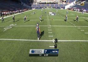 Seahawks down Cowboys at own 1-yard line after Pollard mishandles kickoff
