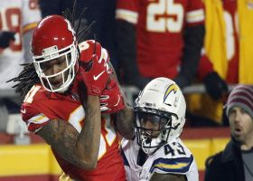 Kelvin Benjamin's first catch as a Chief goes for 17 yards