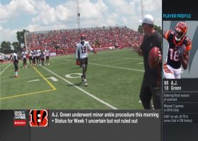 Ian Rapoport: Cincinnati Bengals haven't ruled out Week 1 return for wide receiver A.J. Green
