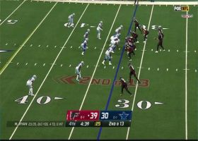 Everson Griffin pounces on Matt Ryan for first sack as Cowboy