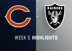 Bears vs. Raiders highlights | Week 5
