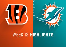 Bengals vs. Dolphins highlights | Week 13