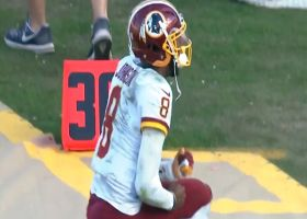 Josh Johnson rejoices after Redskins hit game-winning FG