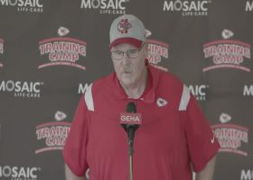 Andy Reid shares early impression of Orlando Brown Jr.