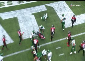 Michael Carter finds opening for 2-yard TD