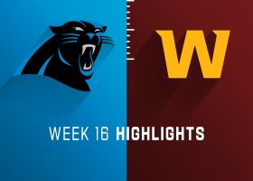 Panthers vs. Washington highlights | Week 16