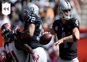 NFL Throwback: Derek Carr throws for 513 yards vs. Buccaneers