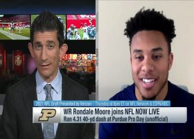Rondale Moore on 'mercy rule' implemented to slow him down in youth football